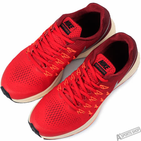NIKE 女 ZOOM PEGASUS 33 GS 慢跑鞋 紅 -834316601