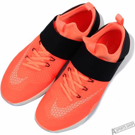 NIKE 女 AIR ZOOM STRONG 慢跑鞋 橘 -843975800