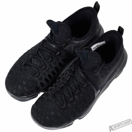 NIKE 男 ZOOM KD 9 EP 籃球鞋 黑 -844382001