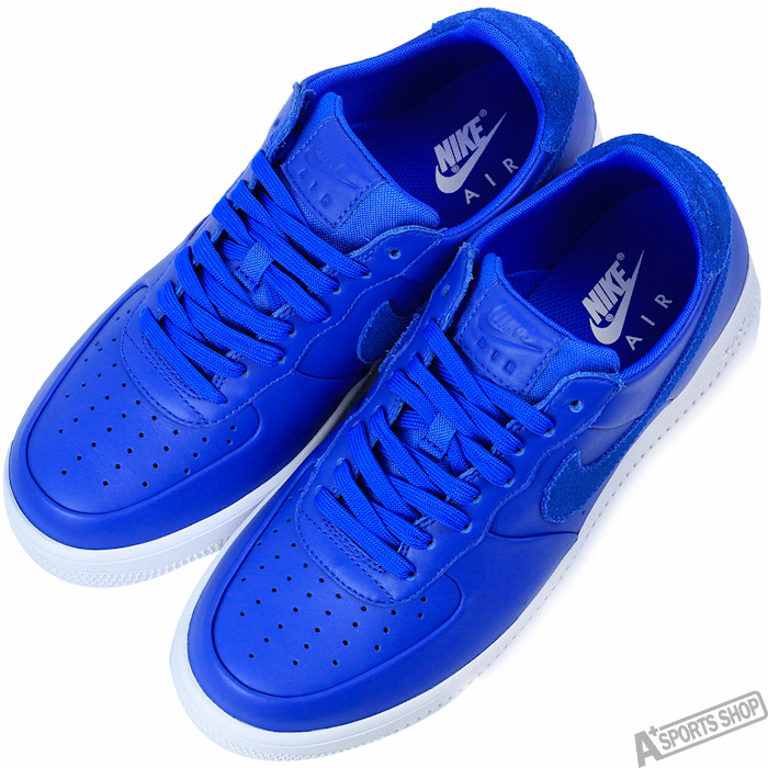 NIKE 男 AIR FORCE 1 ULTRAFORCE LTHR 復古鞋 藍 -845052400