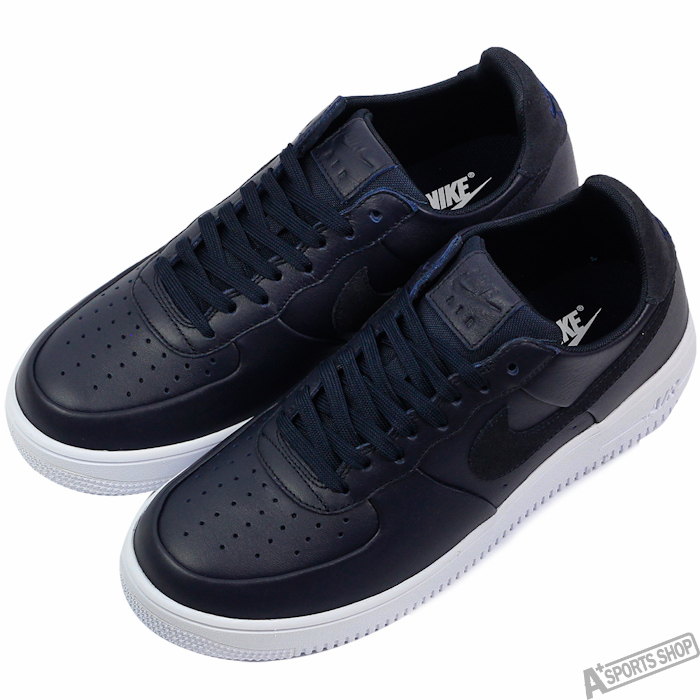 NIKE 男 AIR FORCE 1 ULTRAFORCE LTHR 復古鞋 黑 -845052401