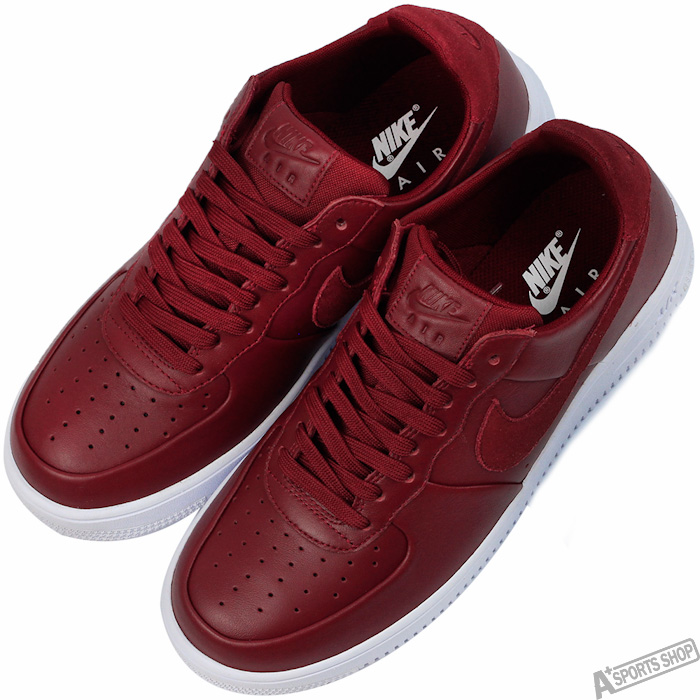 NIKE 男 AIR FORCE 1 ULTRAFORCE LTHR 復古鞋 紅 -845052600