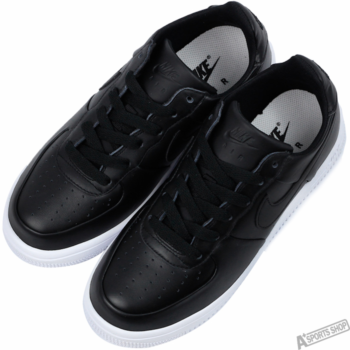 NIKE 女 AIR FORCE 1 ULTRAFORCE GS 復古鞋 黑 -845128001