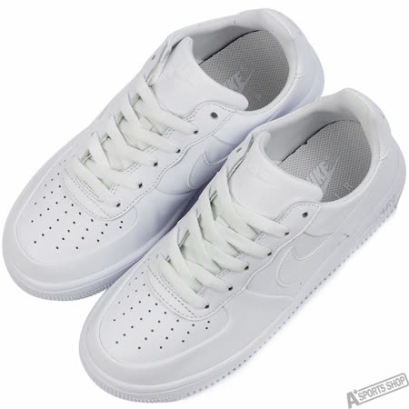 NIKE 女 AIR FORCE 1 ULTRAFORCE GS 復古鞋 白 -845128101