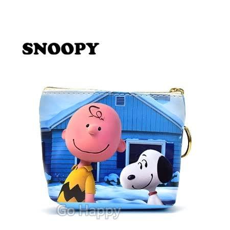 【SNOOPY的快樂時光】鑰匙圈零錢包