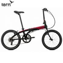 Tern Link D8 鋁合金20吋8速折疊單車-黑底紅標