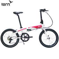 Tern Link D8 鋁合金20吋8速折疊單車-白底紅標