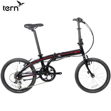 Tern Link B7 鋁合金20吋7速折疊單車-黑底紅標
