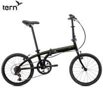 Tern Link B7 鋁合金20吋7速折疊單車-黑底綠標