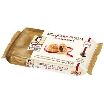 維西尼巧克力夾心酥餅125g