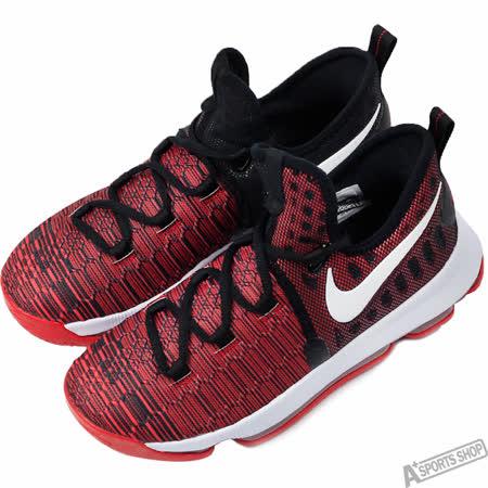 NIKE 女 ZOOM KD9 GS 籃球鞋 紅/黑 -855908610