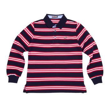 『小鱷魚童裝』經典條紋POLO衫(02號~06號)530111