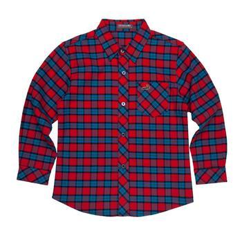 『小鱷魚童裝』格紋襯衫(08號~18號)530105