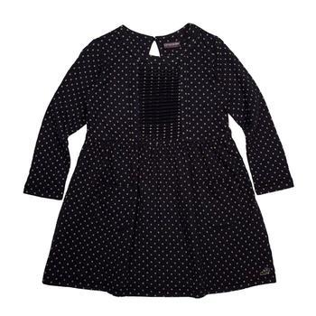 『小鱷魚童裝』圓點口袋洋裝(08號~16號)530307