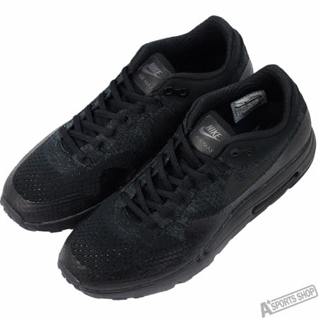 NIKE 男 AIR MAX 1 ULTRA FLYKNIT 慢跑鞋 黑 -856958001