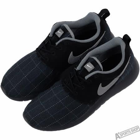 NIKE 女 ROSHE ONE SE GS 復古鞋 黑/灰 -859605001