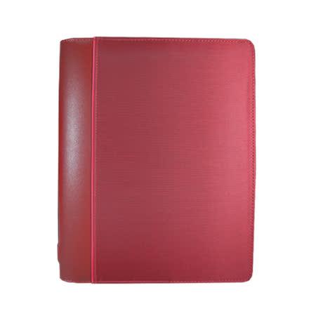 FILOFAX SKETCH剪影系列 A5拉鍊萬用手冊-褐紫紅色