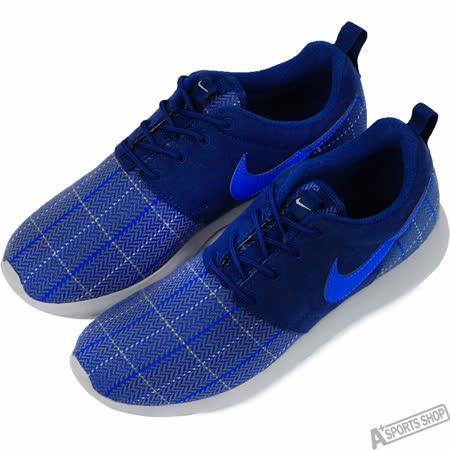 NIKE 女 ROSHE ONE SE GS 復古鞋 藍 -859605400