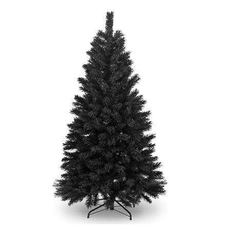 台製豪華型7尺/7呎(210cm)時尚豪華版黑色聖誕樹 裸樹(不含飾品不含燈)
