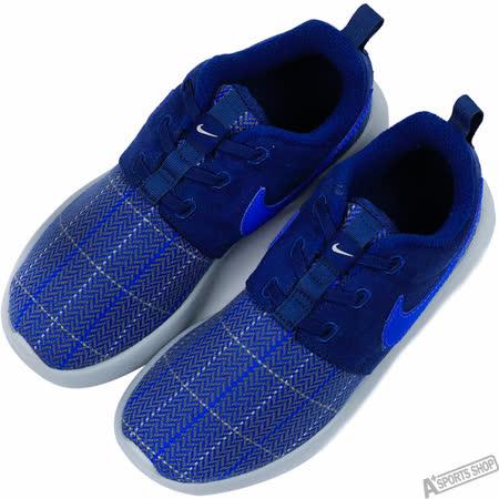 NIKE 童 ROSHE ONE SE PSV 復古鞋 藍 -859607400
