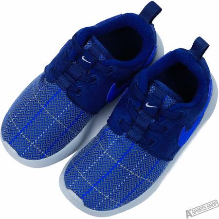 NIKE 童 ROSHE ONE SE TDV 復古鞋 藍 -859608400