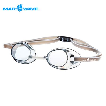 俄羅斯MADWAVE成人競技型泳鏡RACER SW(送耳塞)