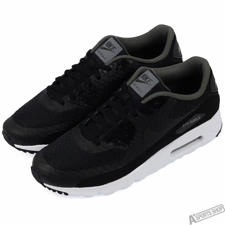 NIKE 男 AIR MAX 90 ULTRA ESSENTIAL 慢跑鞋 黑 -819474013