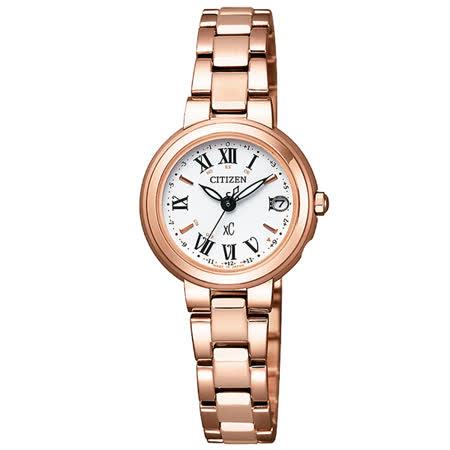 CITIZEN xC 梵蒂岡之夜電波時計腕錶-ES9002-58A