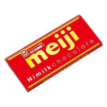 明治濃牛奶巧克力片裝50g