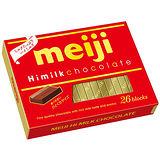 明治代可可脂濃牛奶巧克力26枚盒裝 120g