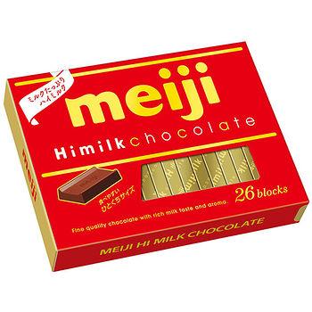 明治濃牛奶巧克力26枚盒裝120g