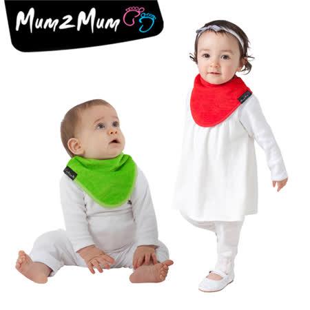 【Mum 2 Mum】機能型神奇三角口水巾圍兜-聖誕2入組