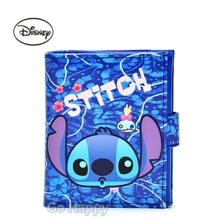 Disney【YoYo史迪奇】多功用皮夾