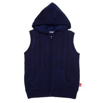 『小鱷魚童裝』厚刷毛針織背心(10號~18號)530951