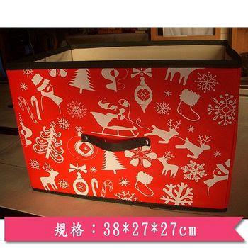 ★2件超值組★創意生活 聖誕節橫式抽屜(38*27*27cm)