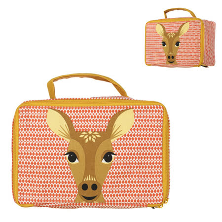 【Babytiger虎兒寶】coqenpate 法國有機棉無毒環保布包- 方方兒拎出門 - 小鹿斑比