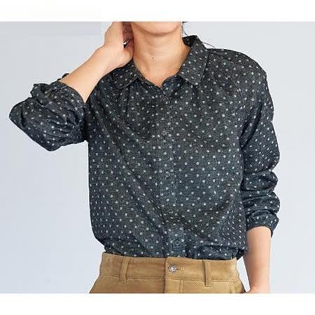 日本Portcros 預購-純棉溫暖起毛修身襯衫(共兩色/M-3L)