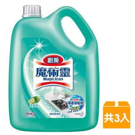 魔術靈 廚房清潔劑 (3800ml x3入/箱)