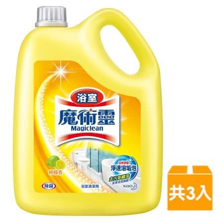 魔術靈 浴室清潔劑 (3800ml x3入/箱)