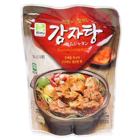 【團購】真韓 馬鈴薯豬骨湯 1000g-2入組