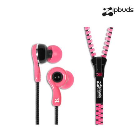 【Zipbuds】拉鍊專利耳機-入耳式 Juiced 2.0系列-KITTY粉