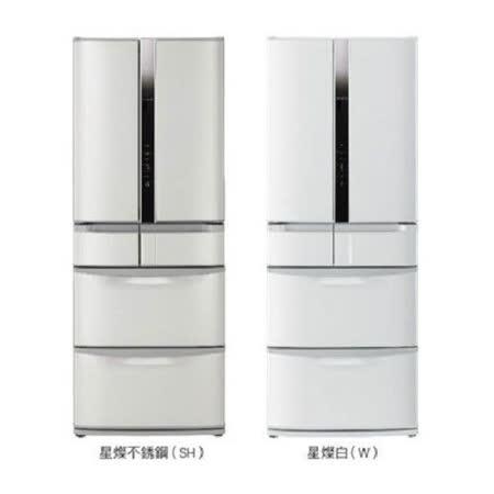 【HITACHI日立】475L日製六門變頻智慧控制冰箱RSF48EMJ(不鏽鋼SH)