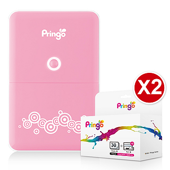 Pringo P231 無線隨身印相機豪華組(附2盒相片)