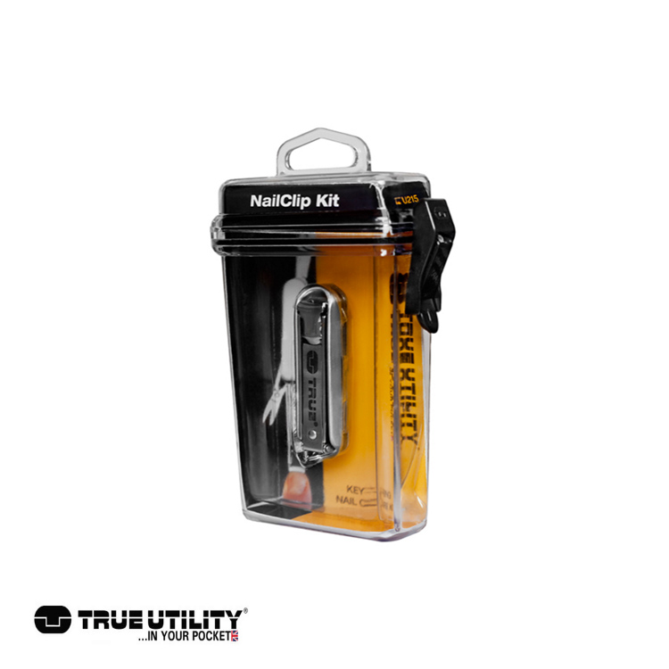 TRUE UTILITY NailClip Kit指甲刀工具組城市綠洲 戶外、工具組、鑰匙圈、英國