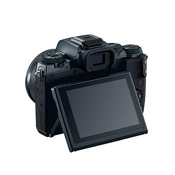 Canon EOS M5 BODY 單機身(公司貨)-加送SanDisk 64G 90MB記憶卡+原廠電池+HDMI+遙控器+大吹球清潔組+拭鏡筆+相機包