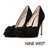 NINE WEST--花樣時尚高跟鞋--優雅黑