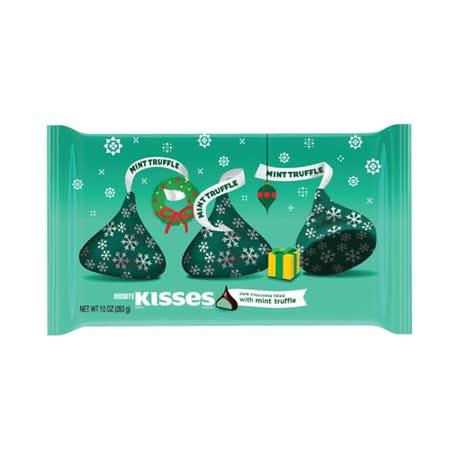 *聖誕限定*HERSHEY'S 賀喜KISSES醇黑薄荷巧克力283g