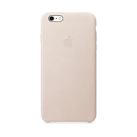 Apple 原廠 iPhone6 Plus / 6S Plus case 適用 皮革保護套(玫瑰灰-盒裝)