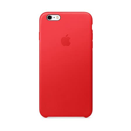 Apple 原廠 iPhone6 Plus / 6S Plus case 適用 皮革保護套(紅色-盒裝)