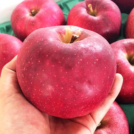 果之家 日本青森稀少種大紅榮蘋果XL特級6顆禮盒(約4.5台斤,單顆為420-450g)